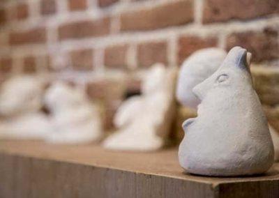 Expositie van werk van Cursisten van Artiance te bezichtigen in Galerie het Kruithuisje te Alkmaar