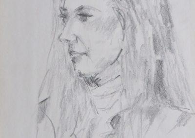 Maud in pencil